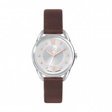 BROWN LEATHER GC WATCH