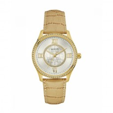 BROWN LEATHER GUESS WATCH