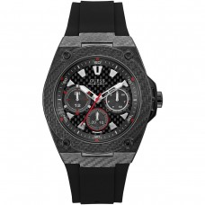 BLACK RUBBER GUESS WATCH